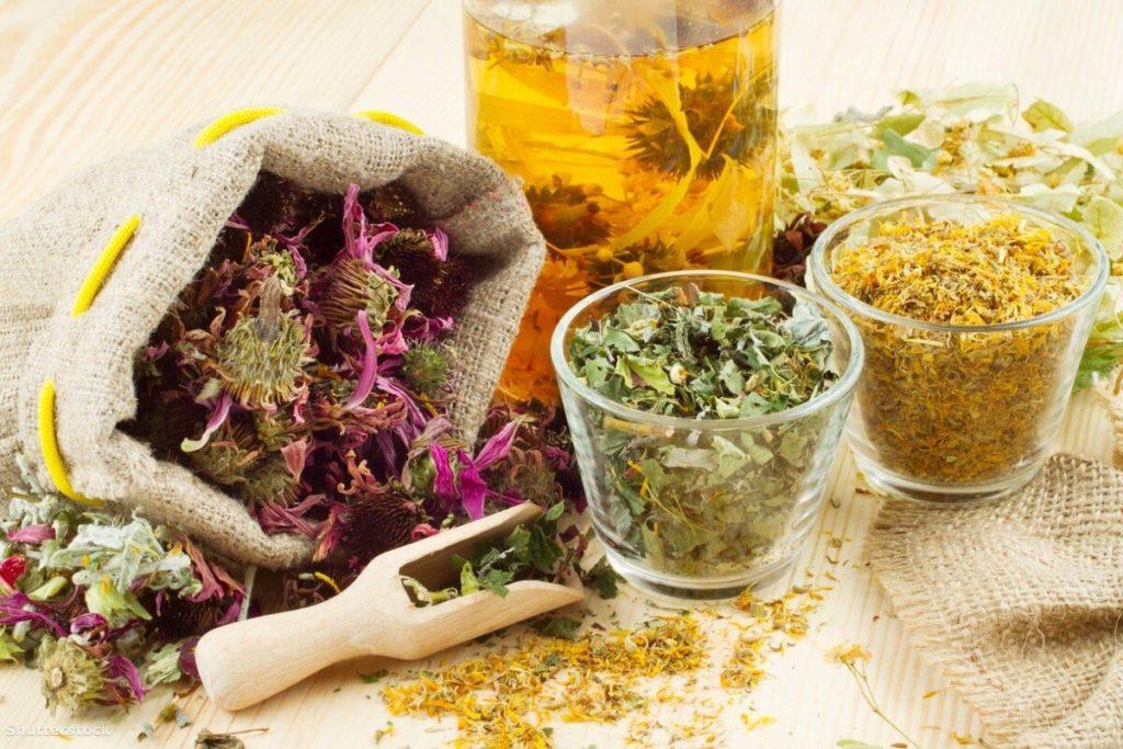 Травяной сбор для укрепления здоровья.
