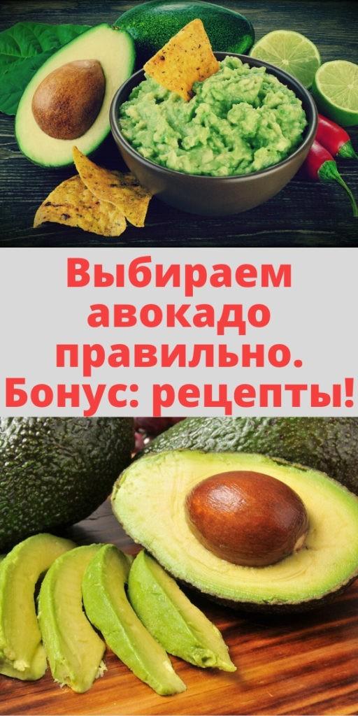 Выбираем авокадо правильно. Бонус: рецепты!